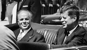 Habib Bourguiba in USA - May 1961